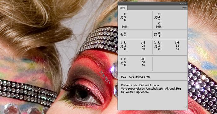 Info Palette Photoshop
