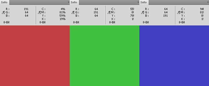 50 Prozent Sättigung RGB