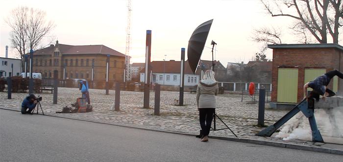Breakdance Fotoshooting Wissenschaftshafen