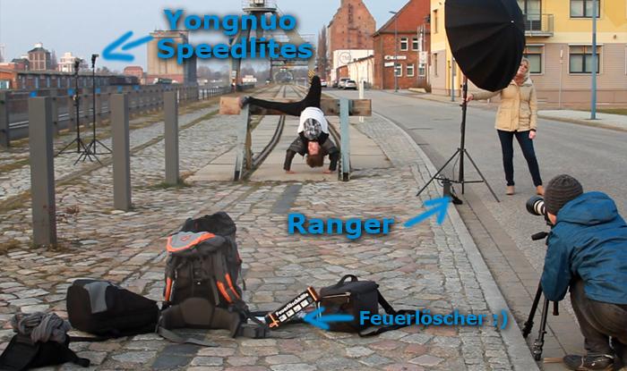Making Of Fotoshooting Breakdance