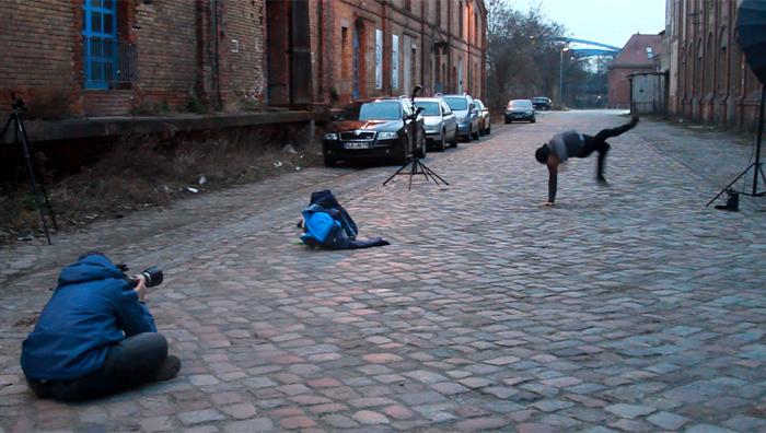 Making Of Fotoshooting Magdeburg