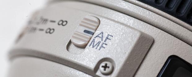 Autofokus Schalter