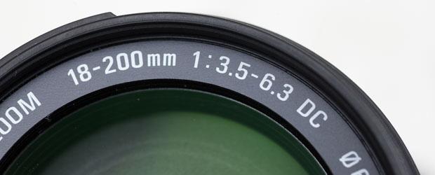Brennweite des Objektivs an der Frontlinse