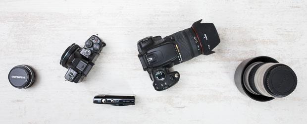 Systemkamera, Kompaktkamera und Spiegelreflexkameras für Einsteiger