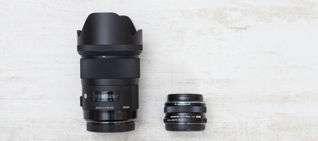 35 mm Vollformat und MFT im Vergleich