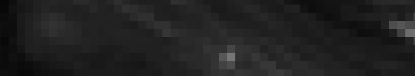 Dunkle Bildpixel