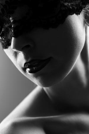 Low-Key Studio-Portrait