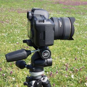 Stativ mit Kamera